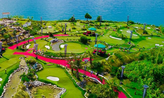 Mini Golf, Dockyard Bermuda