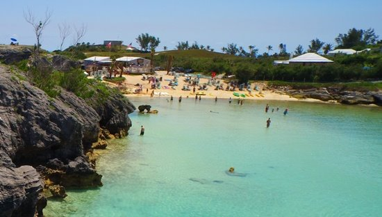 Tobacco bay beach Bermuda