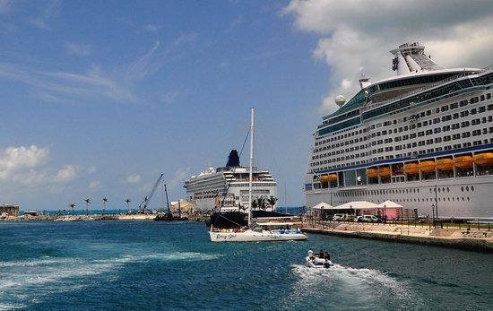 Cruise ships at Dockyard, Bermud