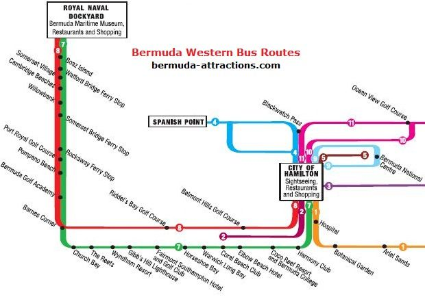 Bermuda Bus Routes