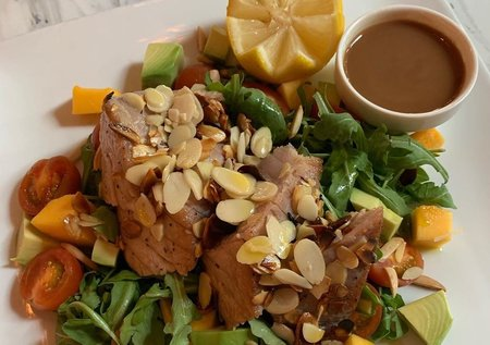 Local Tuna with Almonds